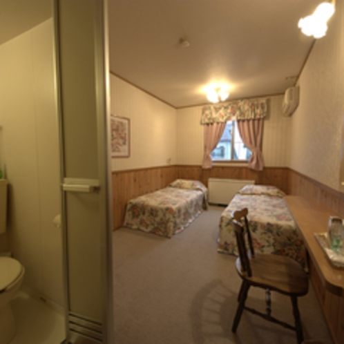 カップル・ご夫婦や女性に人気のかわいらしい洋室です(*´∀`)ノ(一例)(バス付)2