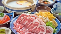 *ご夕食/選べる3種の冬鍋(スタンダード)りんご豆乳しゃぶ・野菜味噌・戸狩鍋より選択