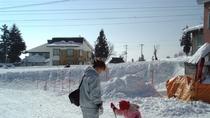 *【周辺】雪景色