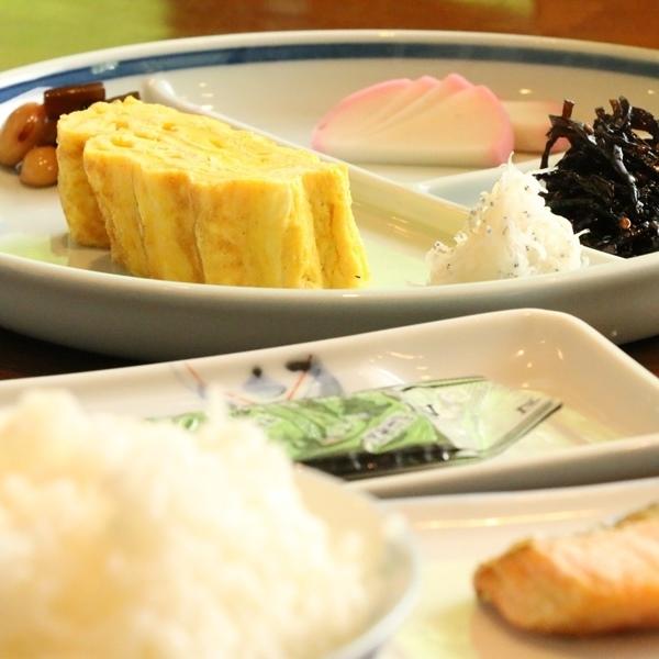 ☆料理_朝食_和_玉子焼きプレート (2)