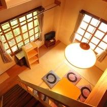 ☆客室_和室8畳 ロフト付き 定員6 (2)