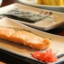☆料理_朝食_和_焼き魚