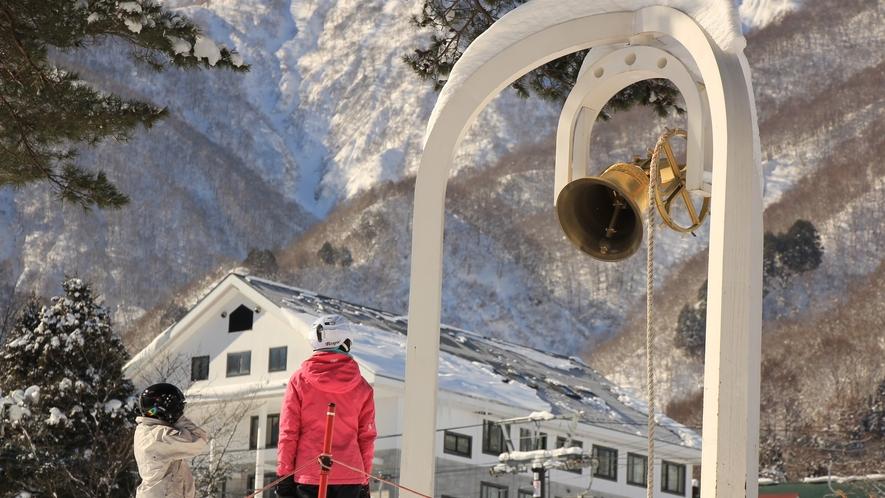 □白馬五竜スキー場目の前!良質なゲレンデをご堪能ください(画像はイメージです)3