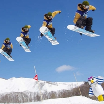 スキーシーズン到来!※イメージ