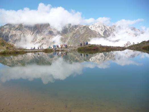 白馬の紅葉と温泉 山では9月から紅葉が始まります 自然が織りなす錦絵をお楽しみください。
