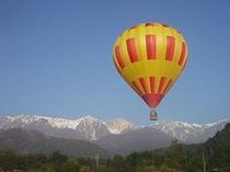 気球からの眺め