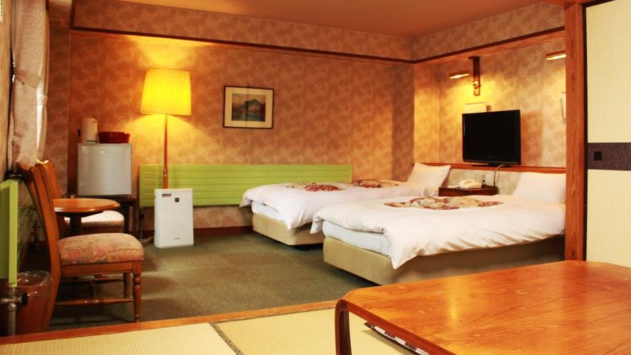 *和洋室一例/寝るときはベッド派の方におすすめのお部屋です。