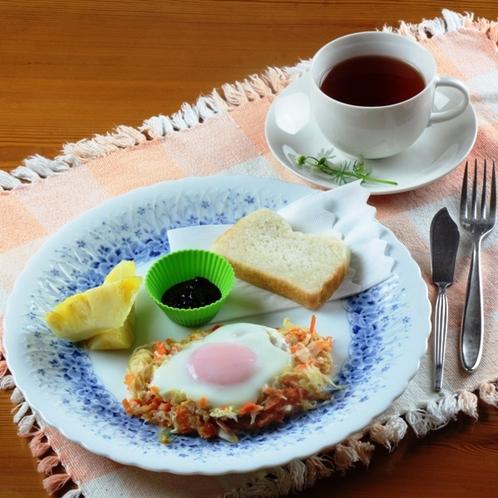 朝食(ダイエット)高原で食べる美味しいヘルシーな朝食はご褒美です☆