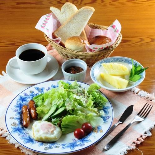 朝食(一般)高原で食べる健康朝食☆食ご希望の方はご予約時にお申し出ください