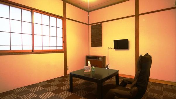 F 【本館】和室(1名)喫煙・バストイレ洗面所なし