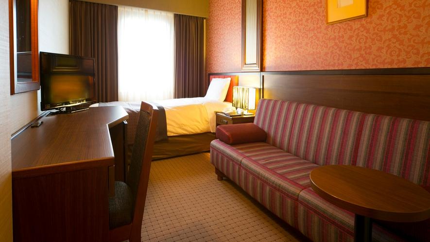 ■ソファー付シングルルーム