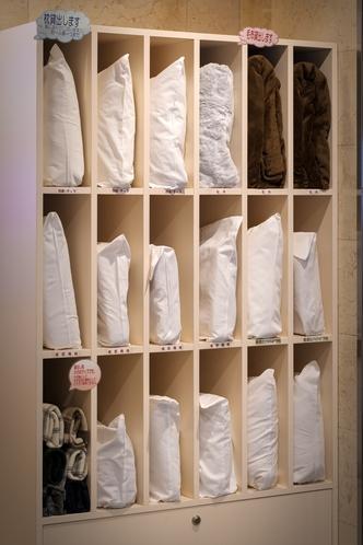 選べる枕&貸出毛布