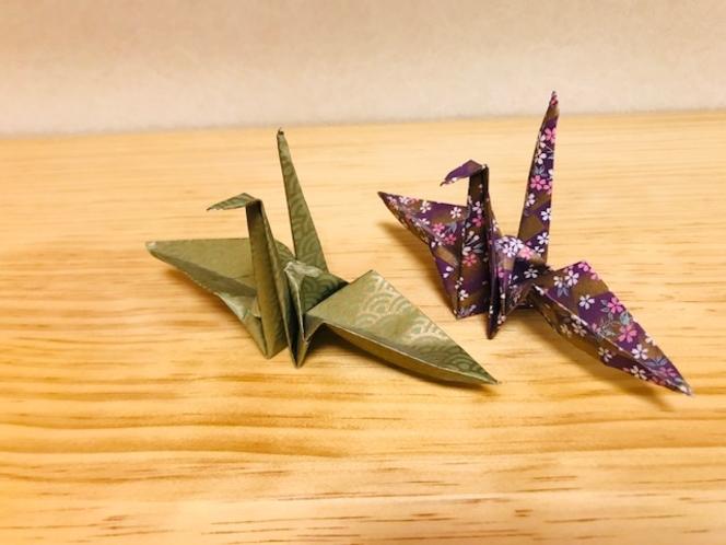 ジャパニーズツイン(折りヅル)