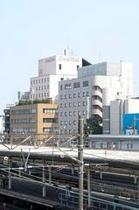 外観(JR平塚駅方面より)