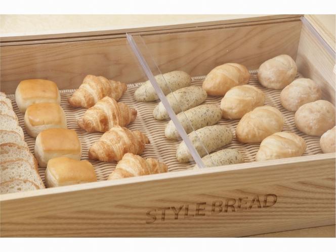 【朝食メニュー】シェフ厳選おすすめパン