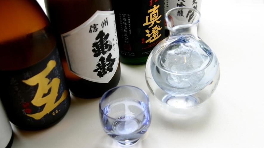 長野県産の日本酒