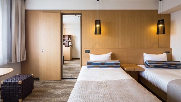 コネクティングルーム(24.8平米×2部屋)確約
