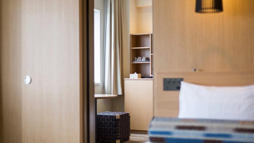 【コネクティングルーム】室内のドアで隣の部屋と行き来できるツインルーム