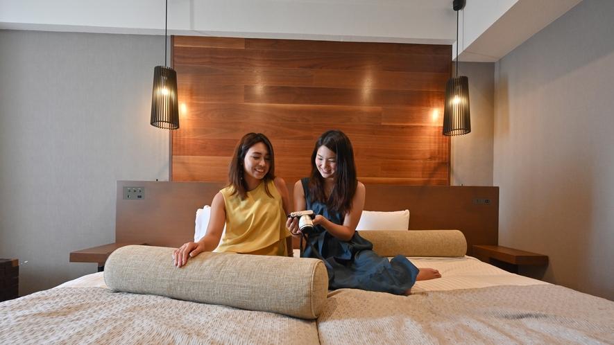 【オーシャンビュー カジュアルツイン】【カジュアルツイン】コンパクトながら過ごしやすいお部屋