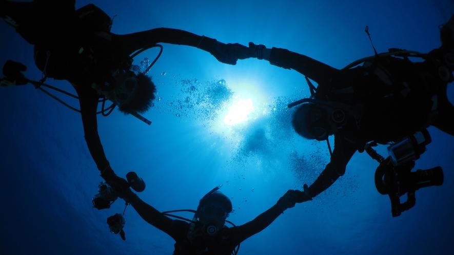 【観光イメージ】ダイバーにも人気の石垣島の海