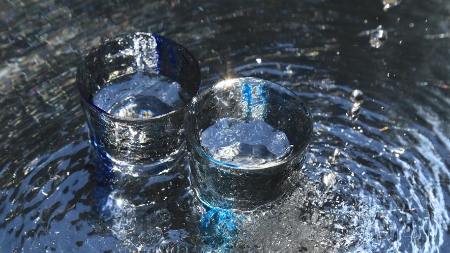 【超軟水】お部屋のお水も地下水をろ過して磨いた超軟水。蛇口から出る水はそのままお飲みいただけます。