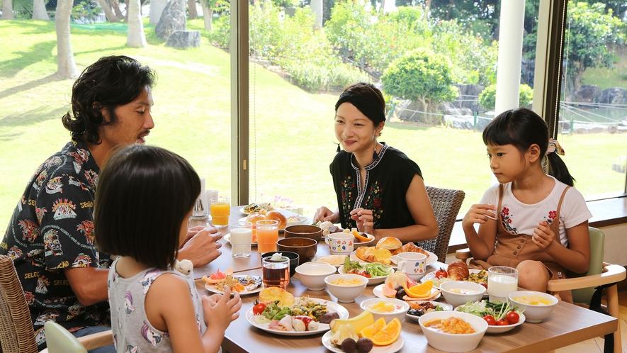 【朝食イメージ】島素材あふれる朝ごはん(1F Allday Dining AQARIUSにて)