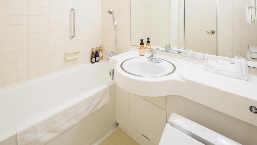 【スーペリアツイン】【スタンダードツイン】【カジュアルツイン】バスルーム一例