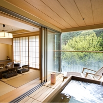 展望露天風呂付客室/和洋室