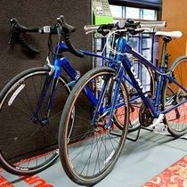 サイクリング用自転車のレンタル受付しています!(有料)