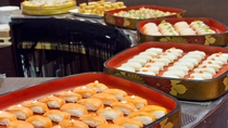 新鮮魚介を堪能できる「握り寿司」
