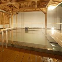 西日本最大級の大露天風呂【翠明の湯】/絹の湯
