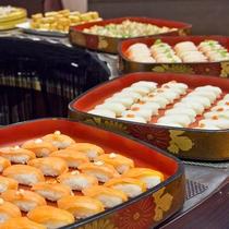 握り寿司数種類