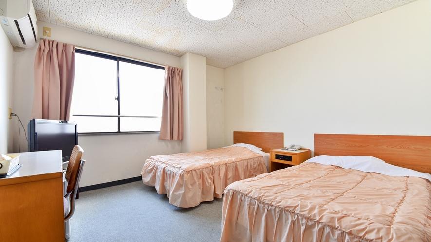 *ツインルーム:少し広めのお部屋でお過ごしください