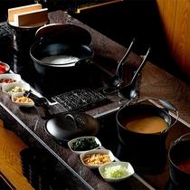 朝食 ブッフェ「和食」