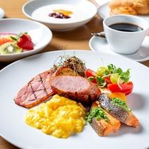 朝食 ブッフェ「ニューヨークスタイルの朝食をお愉しみ下さい」