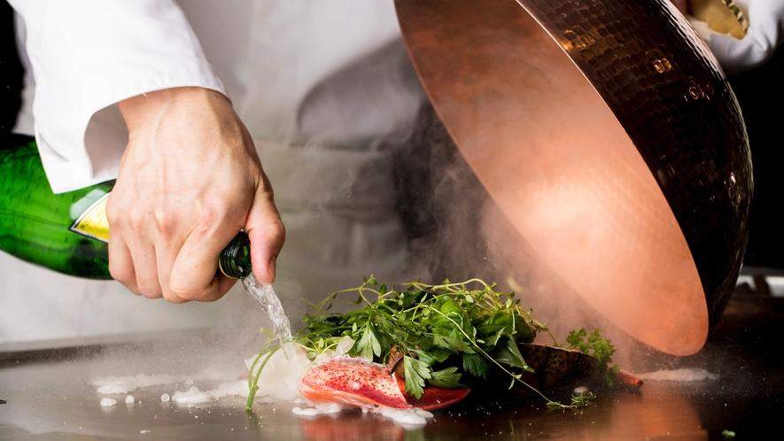鉄板焼 「浅黄」料理イメージ
