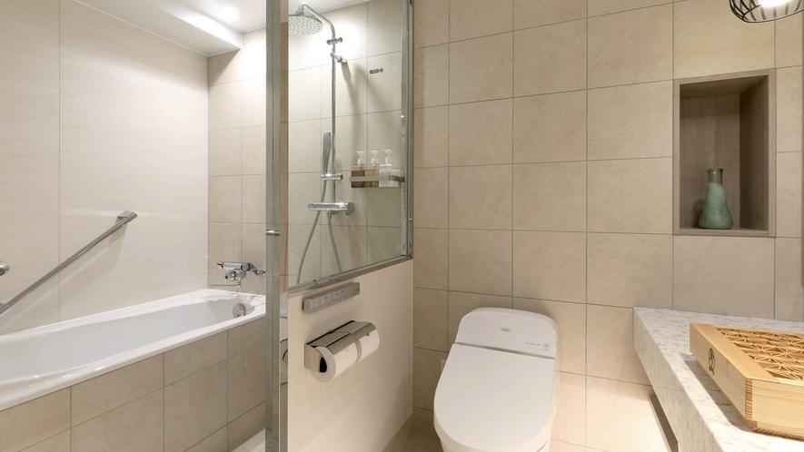 洗い場付バスルーム / ツインルーム