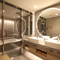 「セミスイート」バスルーム