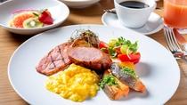 (休止中)朝食ブッフェ「ニューヨークスタイルの朝食をお愉しみください」