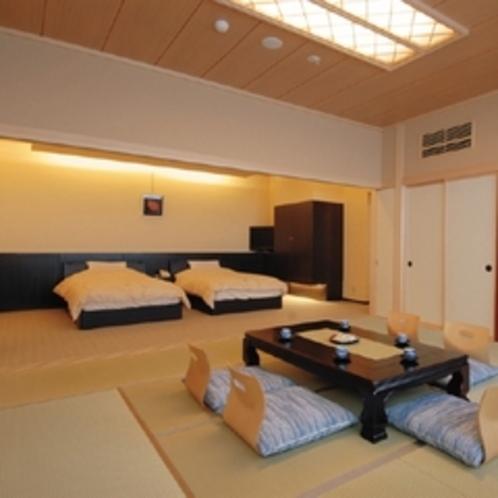 露天風呂付き和洋室一例