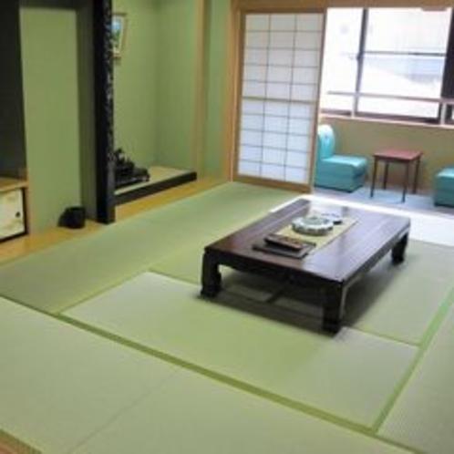 おとぎ亭客室(10畳+4畳バス付)