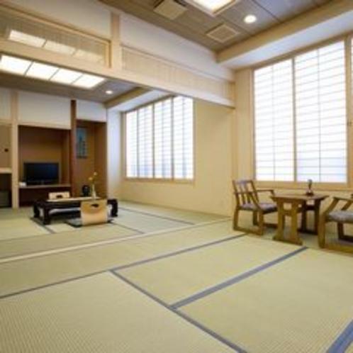 二間続きの新和室一例