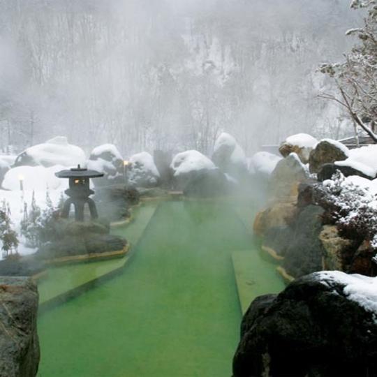 奧飛驒花園旅館燒岳