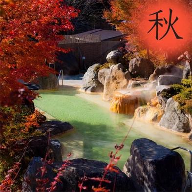 【秋得】そうだ!!紅葉の奥飛騨へ行こう♪お得な温泉せいろ蒸し囲炉裏会席