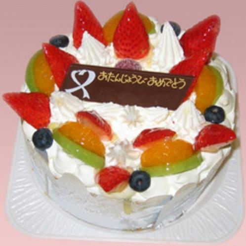 お誕生日ケーキ(イメージ)