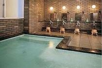 男風呂大浴場は美肌の汲み湯のジェットバス