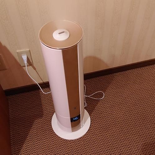 全室にUV殺菌加湿器を完備