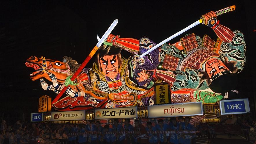 【青森ねぶた/8月2日~7日】 新青森駅まで新幹線で約30分、奥羽本線に乗り換えて青森駅まで約5分