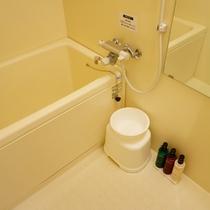 【独立型バスルーム】 全室バスルームとトイレはセパレート型です。