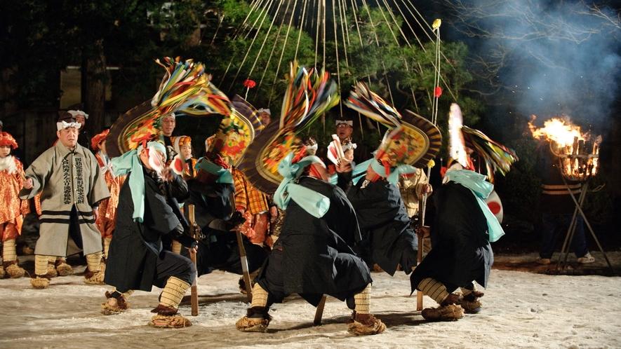 【八戸えんぶり/2月17日~20日】 国の重要無形民俗文化財に指定されている、八戸地方冬の祭りです。